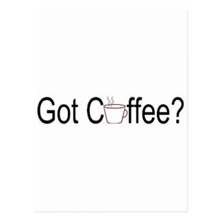 Got Coffee Postcard