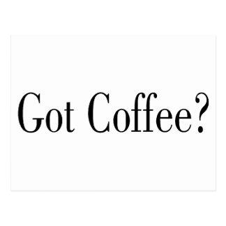 Got Coffee? Postcard