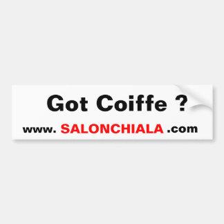 Got Coiffe ?, www.     , SALONCHIALA, .com Car Bumper Sticker