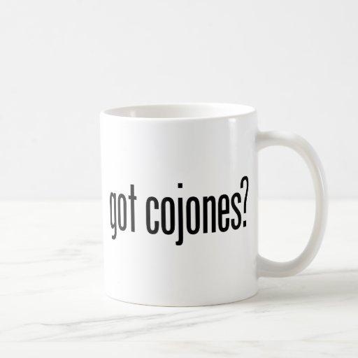 Got Cojones Classic White Coffee Mug