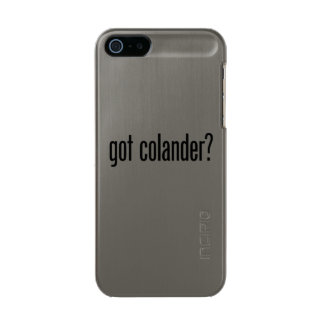 got colander metallic phone case for iPhone SE/5/5s