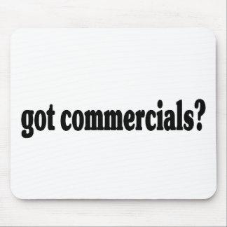 got commercials? mouse pad