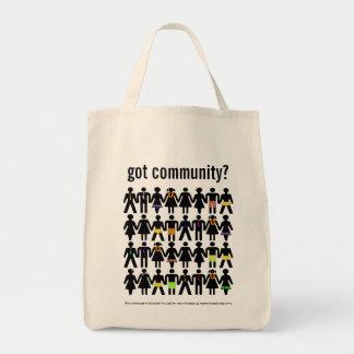 got community? tote bag