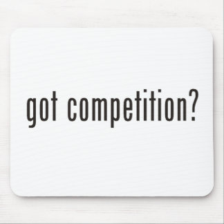 got competition mouse pads