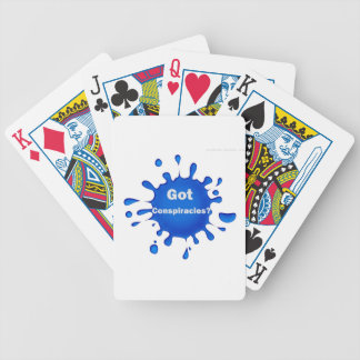Got Conspiracy Theories Bicycle Playing Cards