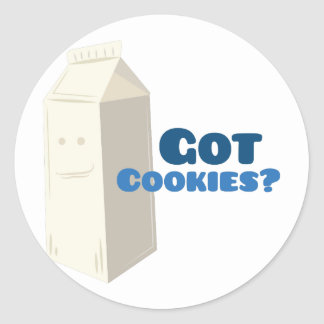 Got Cookies Classic Round Sticker