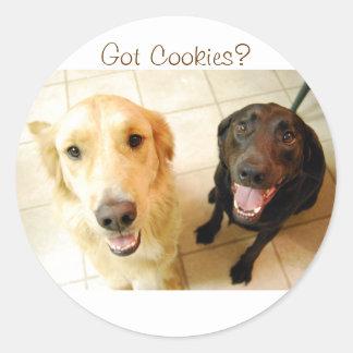 Got Cookies? Classic Round Sticker