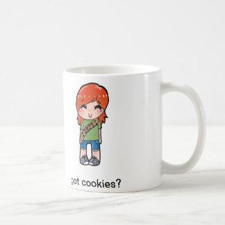 got cookies? classic white coffee mug