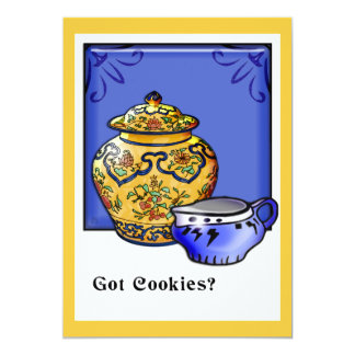 Got Cookies? (Party Invitation) Card