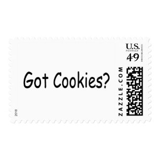 Got Cookies Postage Stamps