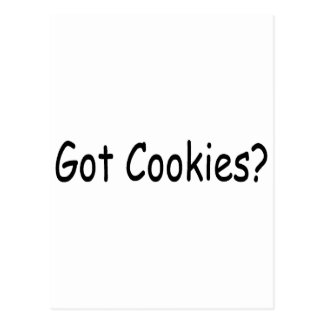 Got Cookies Postcard