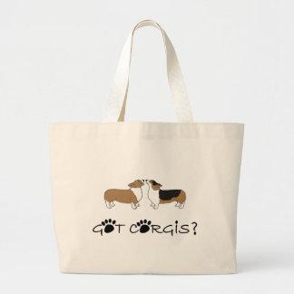 Got Corgis? Jumbo Tote Bag