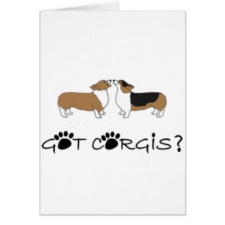 Got Corgis? Card