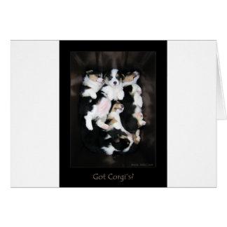 Got Corgi's? Card