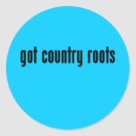 got country roots stickers