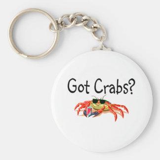 Got Crabs Basic Round Button Keychain