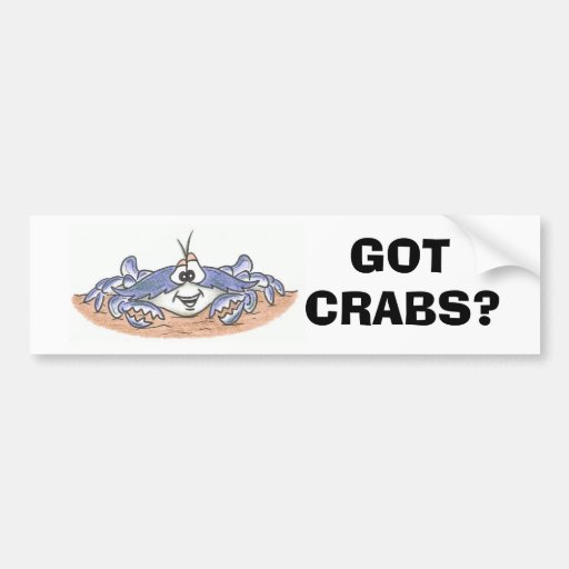 Got Crabs? Bumper Sticker