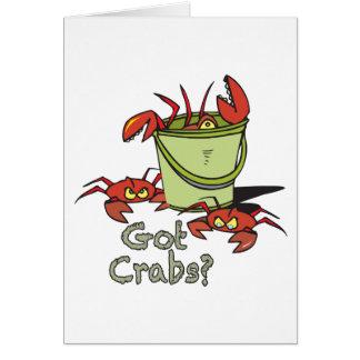 got crabs card