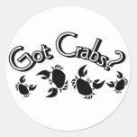 Got Crabs? Stickers