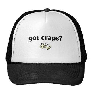 got craps trucker hat
