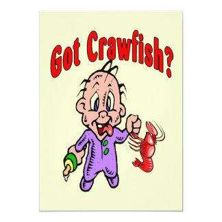 Got Crawfish Baby Card