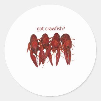got crawfish logo stickers