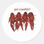 got crawfish? logo sticker