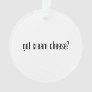 got cream cheese