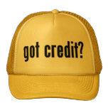 got credit? trucker hat