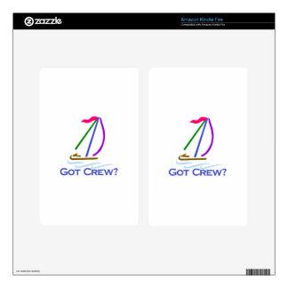 Got Crew? Kindle Fire Decals