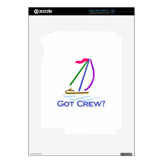 Got Crew? Skins For The iPad 2
