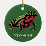 Got Crickets (Fire Belly Toad) Ornament