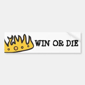 GoT Crown (From Brute Hoot Owl King) Bumper Sticker