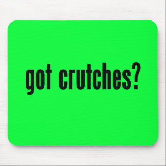 got crutches? mouse pad