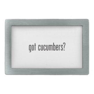 got cucumbers rectangular belt buckles