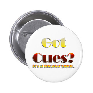 Got Cues? (Text Only) Button