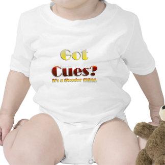 Got Cues? (Text Only) Bodysuit
