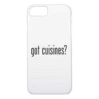got cuisines iPhone 7 case