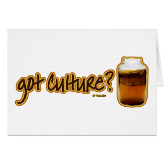 Got Culture? Kombucha Card