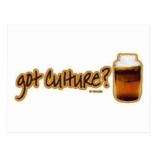 Got Culture? Kombucha Postcard