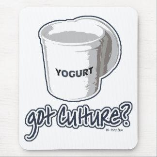 Got Culture? Yogurt Mouse Pad