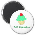 Got Cupcake 2 Inch Round Magnet