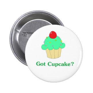 Got Cupcake Pinback Button