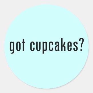 got cupcakes? sticker