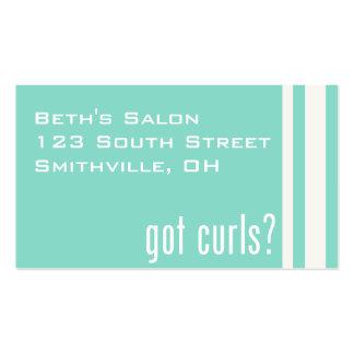Got Curls? Business Card