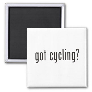 got cycling? 2 inch square magnet