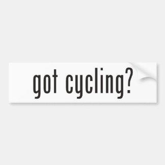 got cycling? bumper sticker