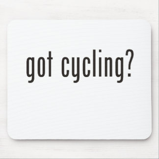 got cycling? mouse pad