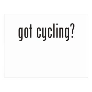 got cycling? postcard