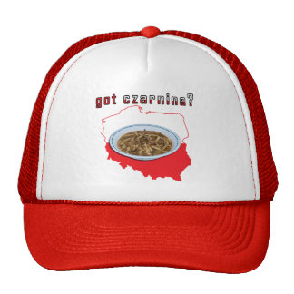 Got Czarnina Polish Map Trucker Hat